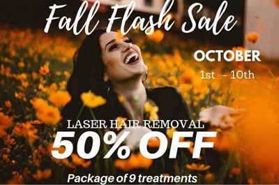 Fall Flash Sale